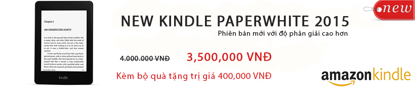 New Kindle PaperWhite 2015